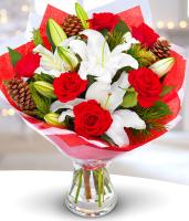 Christmas Roses and Lilies